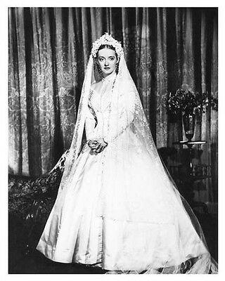 BETTE DAVIS great portrait still in wedding dress from film - (g323)