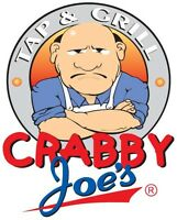 Crabby Joe's Petrolia is NOW HIRING Servers!