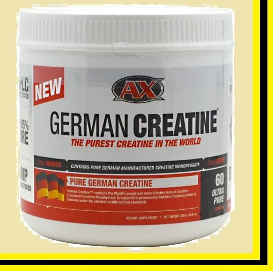 Athletic Xtreme German Creatine 60 Servings Free Us Shipping 300g on sale