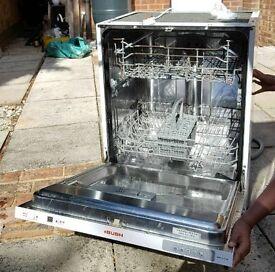 Intergrated full size dishwasher
