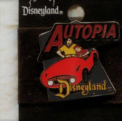 AUTOPIA PIN DISNEYLAND 1998 ATTRACTION SERIES