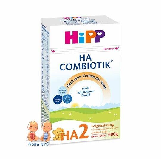 HiPP HA 2 Combiotic Bio Infant Formula 600g Free Shipping