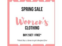 OFFER: Various NEW Women's clothing - Sizes M/L - UK 10-12 (price from £1)