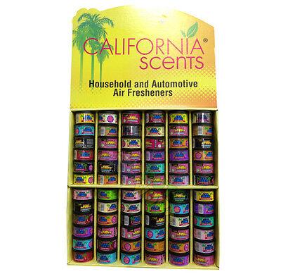 California Car Scents Tin Air Freshener Deodorizer Assorted $7.50 Each Per Tin Image