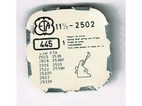 setting lever spring u.v.a. part 445 Stellhebelfeder für ETA 2370