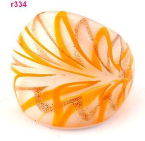 1pc-new-style-handwork-flower-Murano-Lampwork-art-Glass-ring-size-8-r334