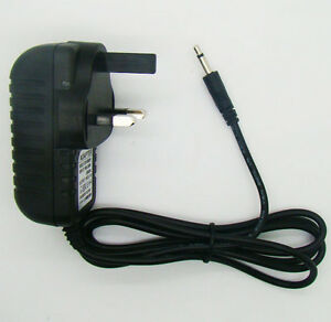 UK Plug FOR ATARI 2600 Power Supply 9V Adaptor Plug Pack for Console Charger