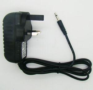 3 Pin UK Plug Power Supply 9V Adaptor Plug Pack FOR ATARI 2600 Console Charger