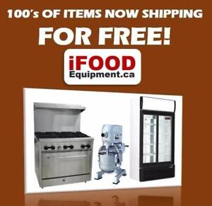 New Commercial Restaurant Equipment with FREE SHIPPING