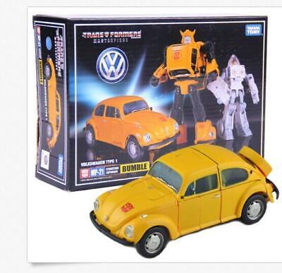 NEW1Transformers Masterpiece MP-21 Bumblebee Volkswagen Car Action Figures!