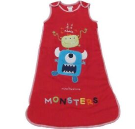 Pitter Patter red snuggle sleeping bag