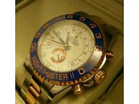 Rolex Yacht Master 2 Rose Gold Bi Colour With Box, Papers