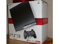 Ps3 boxed 120gb with game