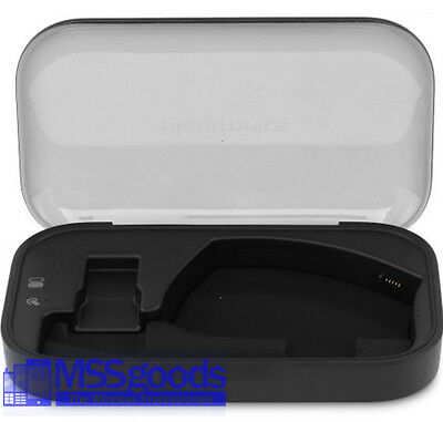 Oem Plantronics Voyager Legend Charge Case  Black With Charger  Free Shipping