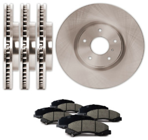NEW Front & Rear rotors & pads for VW Jetta / Beetle / Audi A3