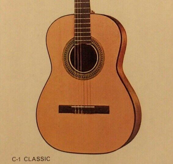 1968 Gibson C-1 Classic Dealer Sheet
