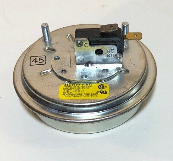 FS6085A-1903  Honeywell Air Pressure Switch 1903 Inlet   9004659105 A.O Smith