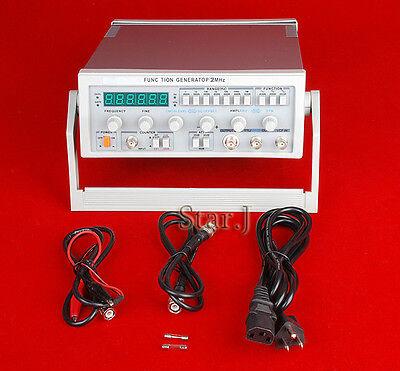 New Digital Function Signal Generator 0.1hz-2mhz Audio