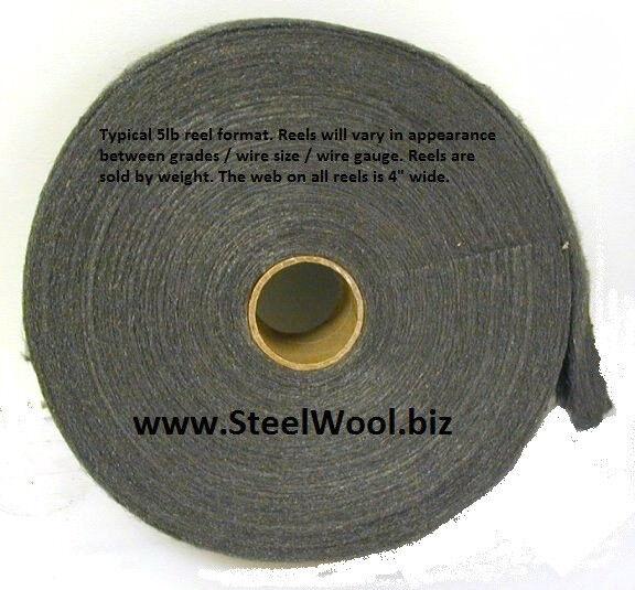 5lb Steel Wool Reel #0000 - Super Fine