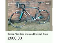 Carbon fibre Road Bikes