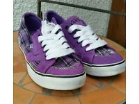 Vans - Purple - Size 4