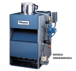 Brand New Olsen Gas-Fired Boiler For Sale - Only $899
