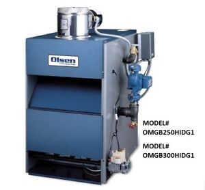 Brand New Olsen Gas-Fired Boiler For Sale