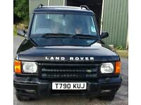 1999 landrover discovery 2 td5 auto gs black 107k