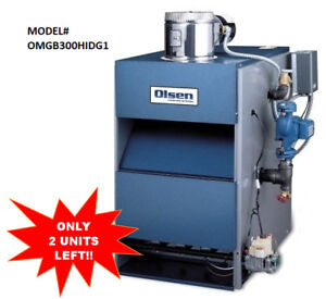 ✫BIG CLEARANCE - BRAND NEW IN CRATE GAS-FIRED WATER BOILER✫
