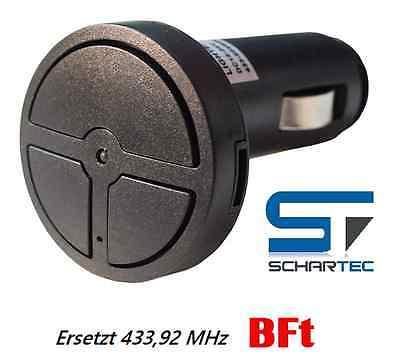 Handsender zu BFT 433 MHz Zigarettenanzünder Funk Mitto RCB Clonix