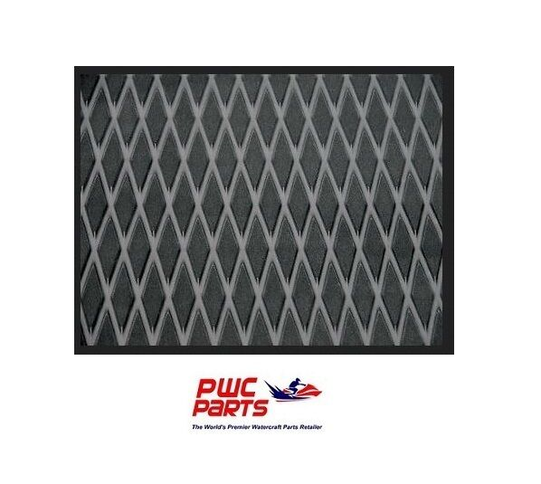 "HYDRO TURF Traction Mat Roll - Molded Diamond - Black 40"" x 62"" - w/ 3M Adhesive"