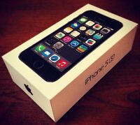 IPHONE 5S 16GB NEW/NEUF BELL/VIRGIN.