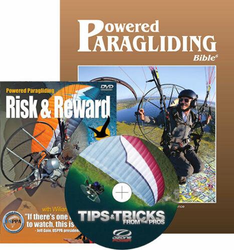 PPG Combo: PPG Bible & Risk&Reward, Tips&Tricks - Powered Paragliding, Paramotor