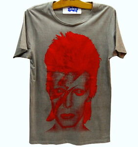 David-Bowie-ZIGGY-STARDUST-Vintage-Retro-Punk-Rock-T-Shirt-M