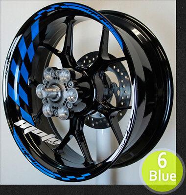 Wheel Rim Stripes Tape Decals Yamaha R1 R6 FZ YZF R3 17 16 15 14 13 12 Stickers