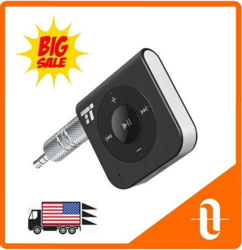 TaoTronics Bluetooth Receiver Car Kit, 15hrs Wireless Audio Adapter TT-BR06