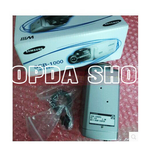 1PC Samsung SCB-1000PD Monitor Colour High Definition Gun Camera#SS