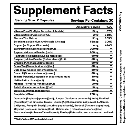 (5 Bottles) ProstaStream - Prosta Stream, Prostate Support Supplement 60 Caps 2