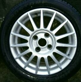 """FORD ST 16"""" ALLOY WHEELS. NEED 2 GO BY 10pm TONIGHT 21/01/2017"""