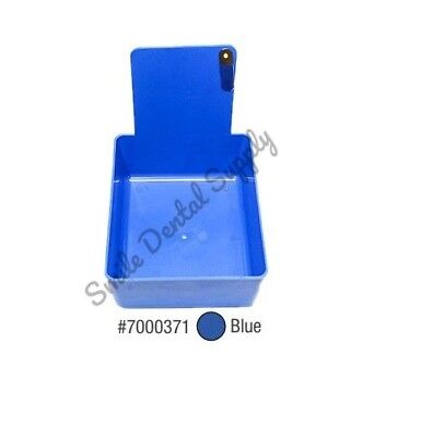 Dental Laboratory Working Case Plastic Pan Tray With Clip Holder 1x Blue Pans