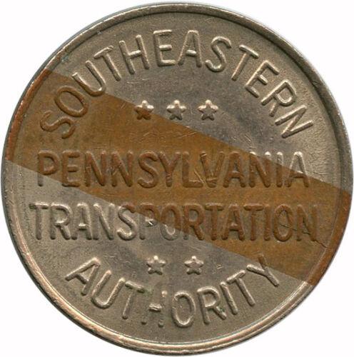 Southeastern Pennsylvania Philadelphia, Pennsylvania PA One Fare Transit Token