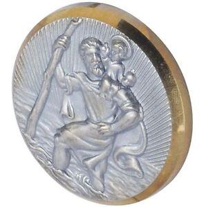 Plakette St. Christophorus Schutzpatron  selbstklebend HR 10210101 Christopherus