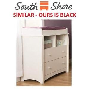 NEW SOUTH SHORE CHANGING TABLE 11431 208174033 BLACK