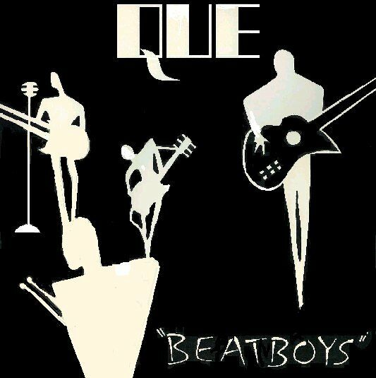 "THE QUE ""Beatboys"" EP '83 Vintage Vinyl Sealed Rock Gram Parsons Foundation"