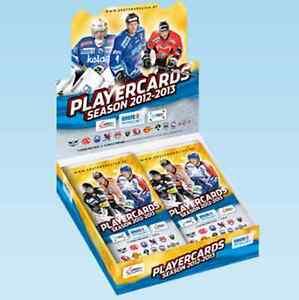 EBEL Playercards 2012/13: 4 Basis- oder Updatekarten wählbar Eishockey - <span itemprop='availableAtOrFrom'>Graz-Wetzelsdorf, Österreich</span> - EBEL Playercards 2012/13: 4 Basis- oder Updatekarten wählbar Eishockey - Graz-Wetzelsdorf, Österreich
