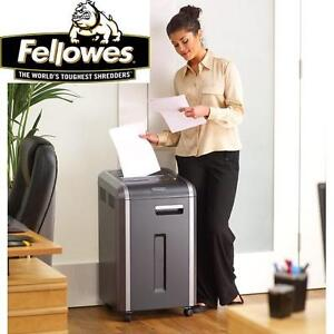 NEW FELLOWES POWERSHRED SHEDDER - 107227006 - C-225i SAFESENSE SENSOR UP TO 20 SHEETS PER PASS SHEDDERS OFFICE ACCESS...