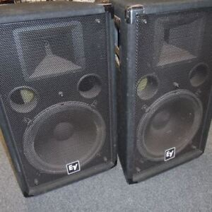 Pro speaker package EV and JBL