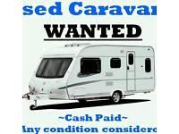 Looking touring caravan or camper /motorhome