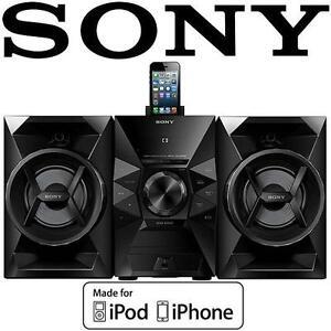 USED* SONY IPHONE/IPOD SPEAKER DOCK 120 Watts Music System -MHCEC619iPN 107596034