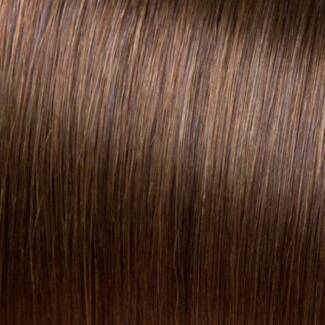 Skin Weft Indian Hair Extension Pkt Chocolate Brown 20 Pieces